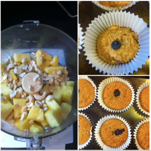 pineapplecashewblueberrymuffins-burned!