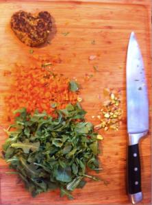 misshapen (delicious) falafel