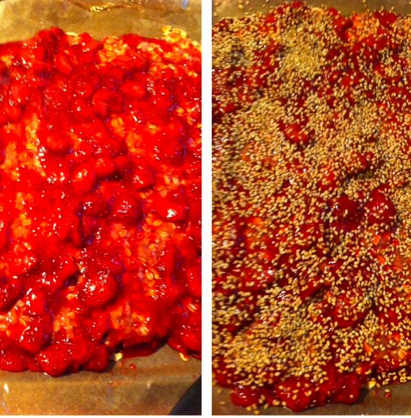 Sesame seeds!