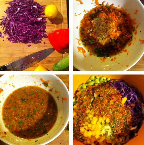 Asian slaw marinade