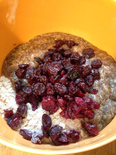 pistachio cherry oatmeal cookies