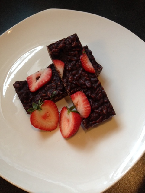 strawberry crunch bars