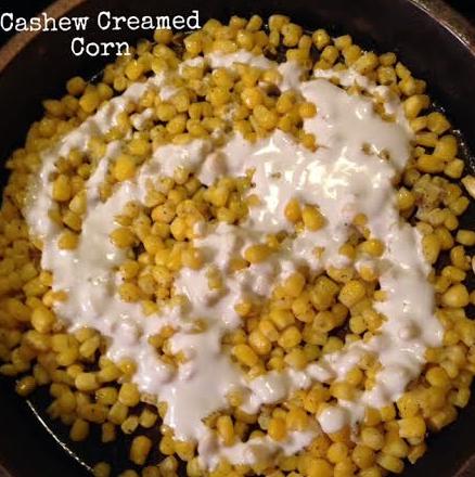 cashew creamed corn