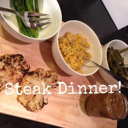 Steak Dinner\