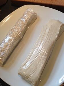 vegan party cheese log